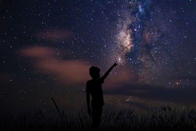 Always Dream Big Milkyway Milky Way Sky Clouds And Sky Nightphotography Stars Astrophotography Long Exposure