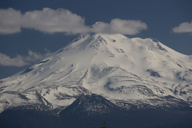 Beauty In Nature California Clouds And Sky Covering High Elevation Landscape Majestic Mount Shasta Mountain Natural Forces Non-urban Scene Outdoors Physical Geography Scenics Snow Snowcapped Mountain Summit USA