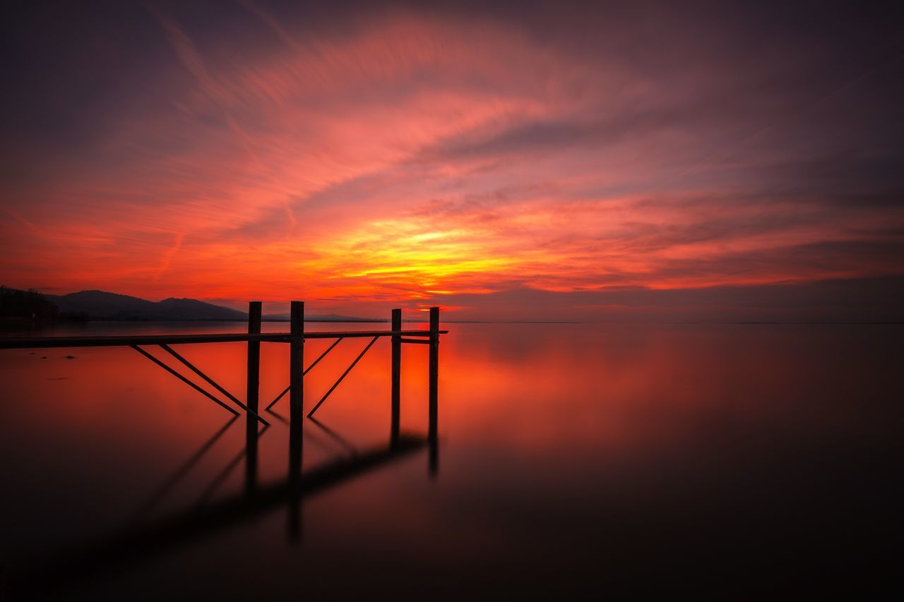 My Vorarlberg ❤️🇦🇹 Sunset Beauty In Nature Water Scenics Nature Orange Color Sky Reflection Lake Horizon Over Water Day Lakeofconstance Like Ndfilter Longtimeexposure LongTime  Steg Vorarlberg  No People Outdoors Love Nature Weather