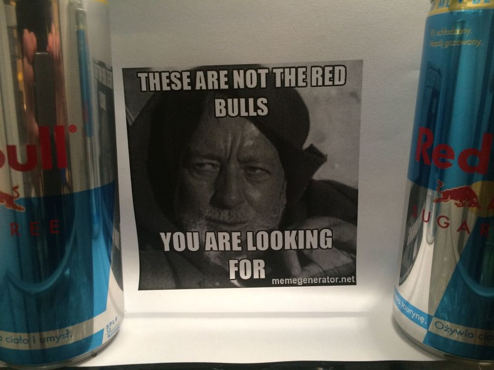 Office fridge politics Red Bull Star Wars This Is War Office Survival Techniques
