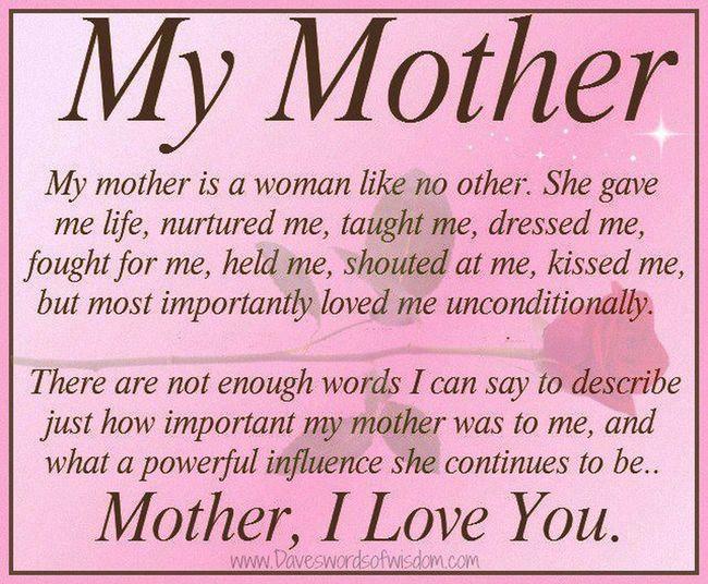 I Love My Mommy !