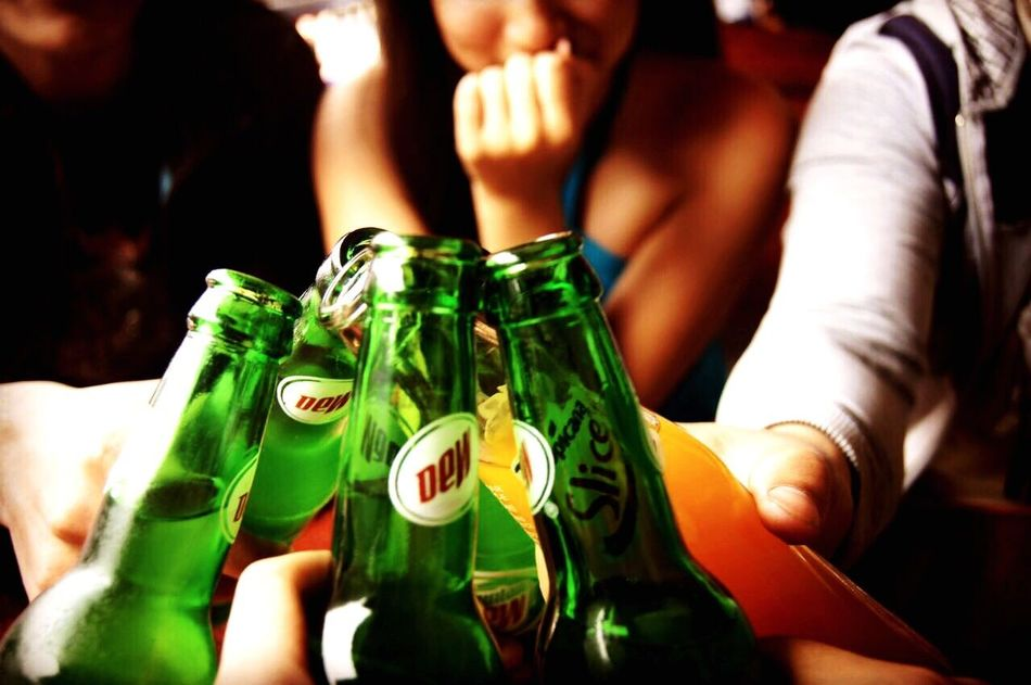 With true friends there can never be anything that can go wrong Food And Drink Human Hand Celebration Togetherness Real People Close-up Friendship Day Freshness That Moment Drink Mountain Dew SLICE Not A Moment A Memory My Squad  Forever Friends EyeEmNewHere Eyeemphotography