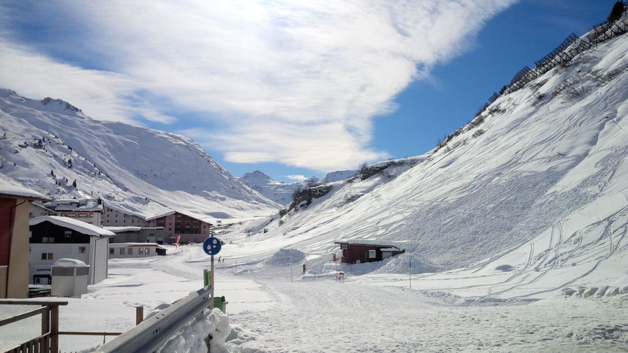Austria Austria Mountains Austrian Alps Mountain Snow White Winter