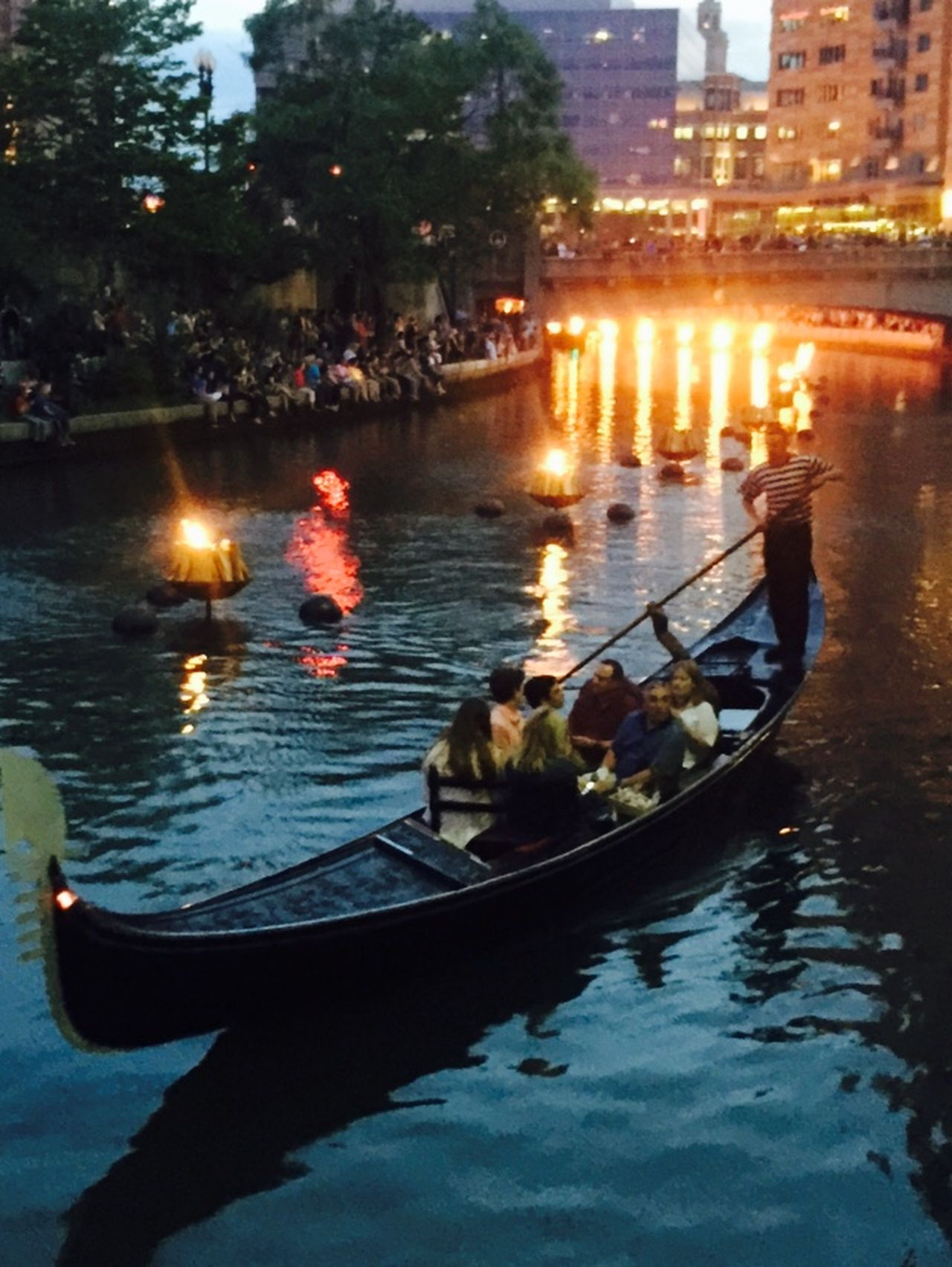 Providence Rhode Island EyeEmBestPics Waterfire Gondola Summertime Summer Weekend Weekend Activities Family Fun Providence Waterfire Learn & Shoot: After Dark