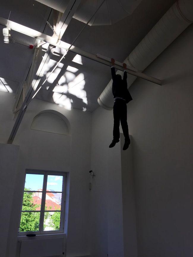 My work in Muelheim Museum. Germany. Tittle: Help-Chen Tai Man's Death. Exhibition Art Opening Germany Museum Work ArtWork Window The Human Condition Help