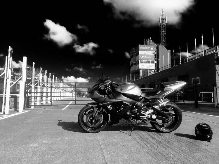 Isle of Man. TT. Yamaha r1 Outdoors City Yamaha R1 Isle Of Man Blackandwhite Douglas Tourist Trophy Sport Bikes First Eyeem Photo