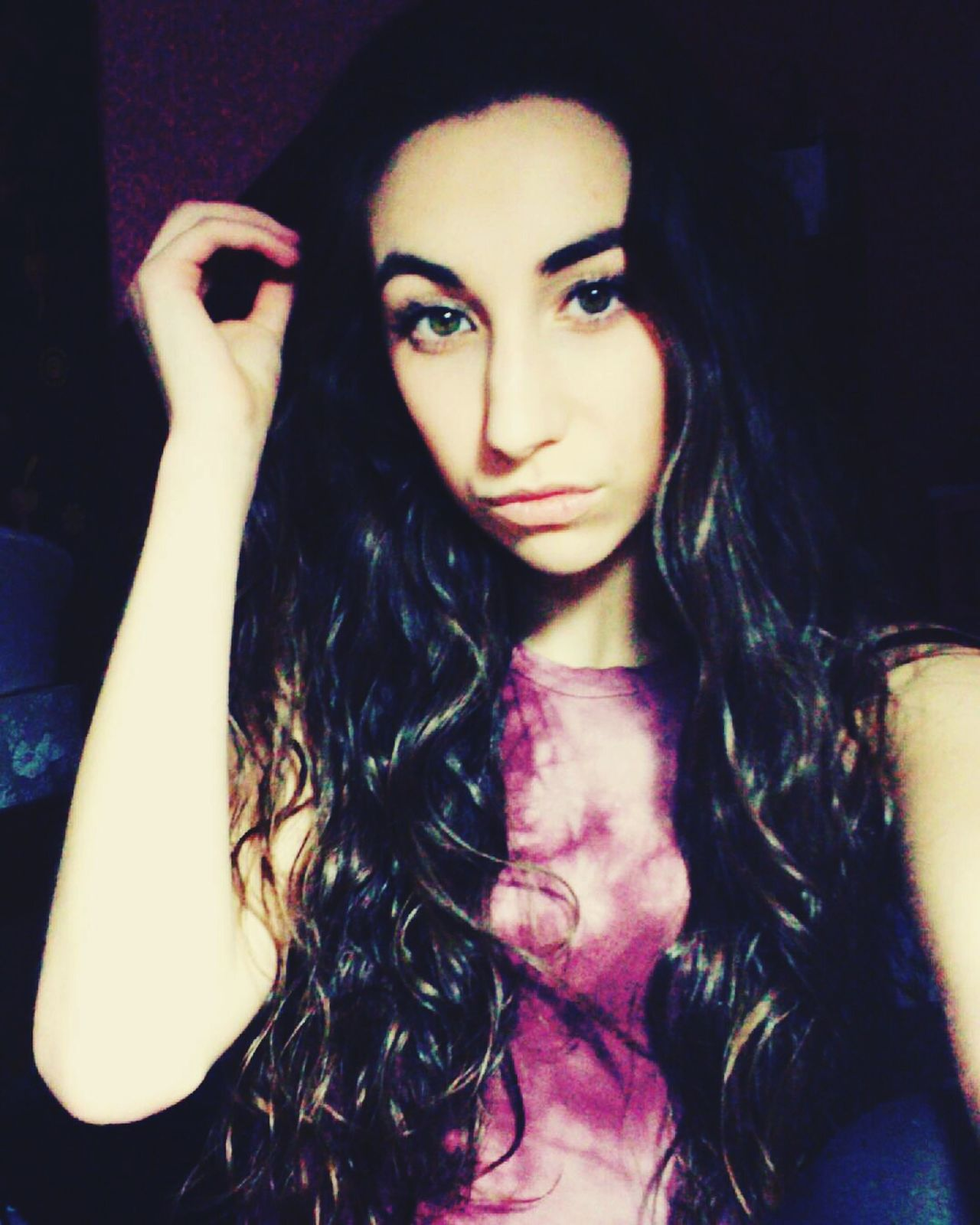 Selfie✌ Selfienation Long Hair Snapchatfilters Snapchat Diffeyecolors