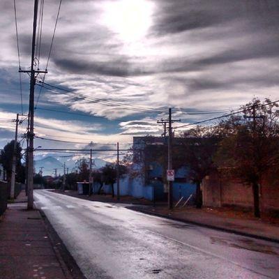 Después de la lluvia siempre sale el sol!! Paisajes ,Invierno , Lluevesobrelaciudad ,Palacasa