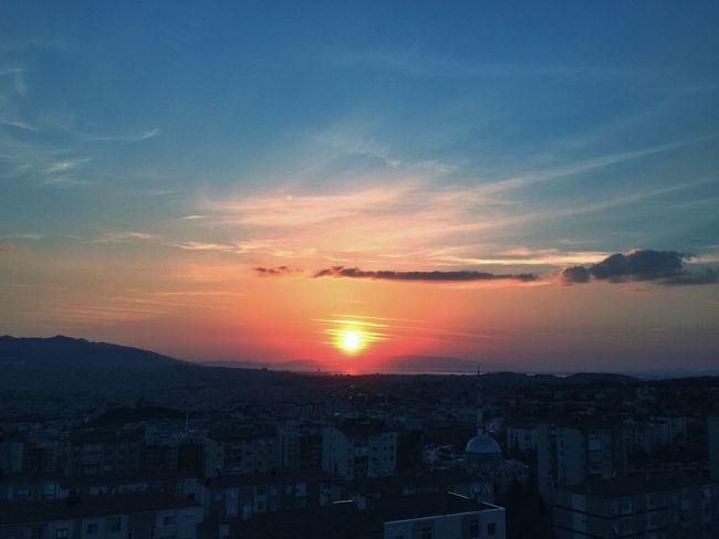 Sunset Sun_collection Sunsetizmir Buca  Skyporn