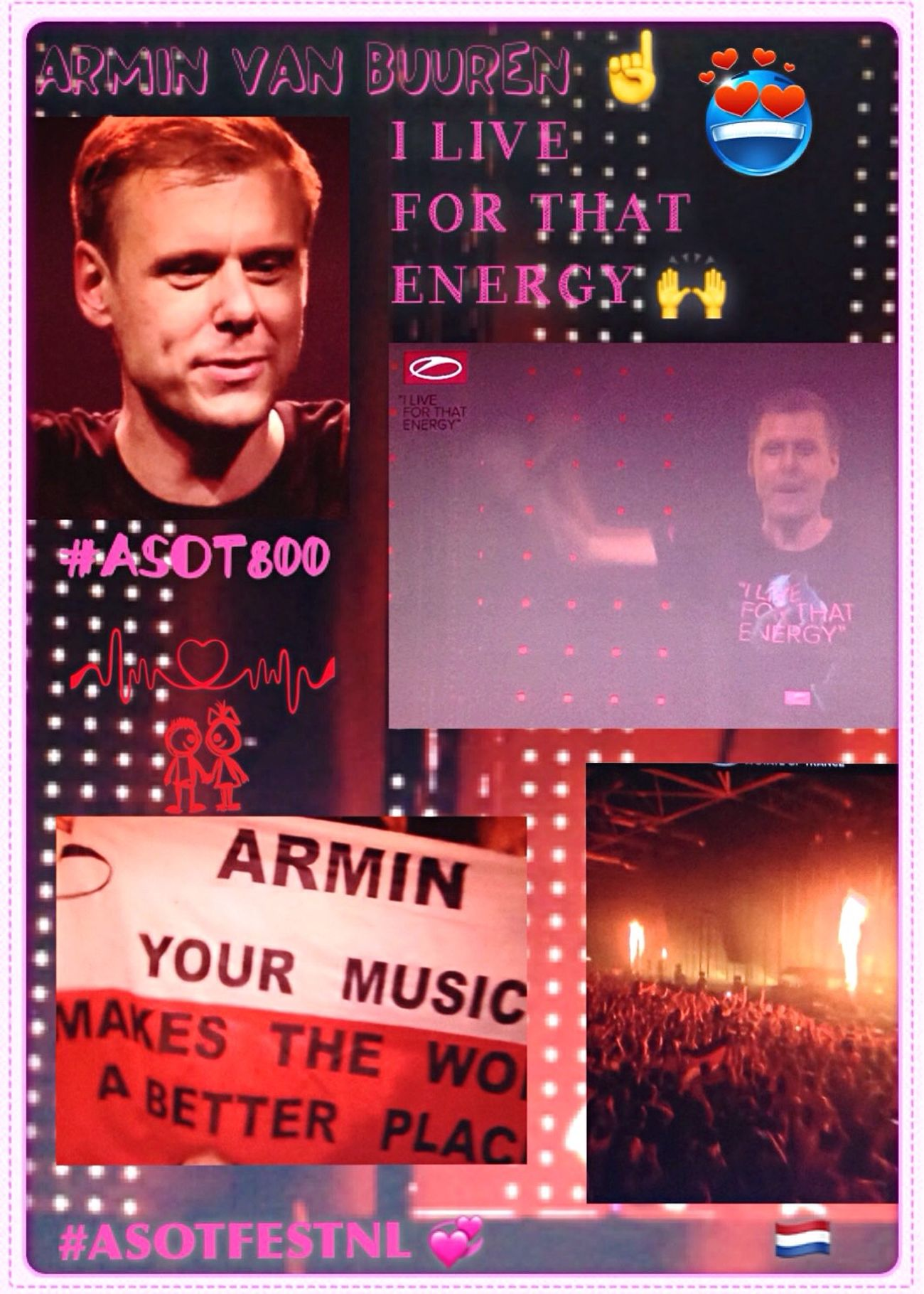 I Loved Your Energy with ASOT 800 A State Of Trance Festival Utrecht 🙌 💞 ♬\❤️ 🇳🇱 ❤️/♬ 💞 🙌 Thank You So Much my Idol Armin Van Buuren 🙏🏻 ☝🏻️ 🙏🏻 ASOTFESTNL ❤️ 💙