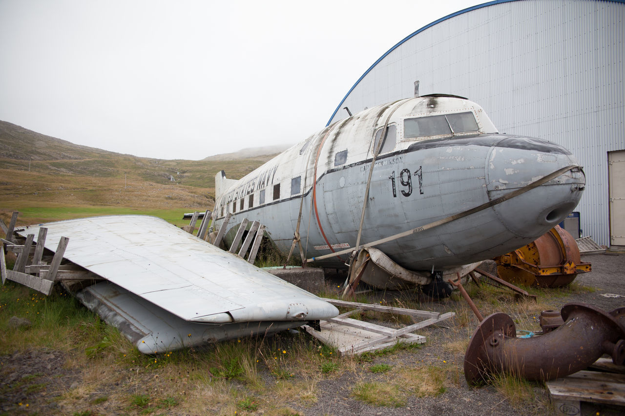 Beautiful stock photos of old, Airplane, Architecture, Building Exterior, Day