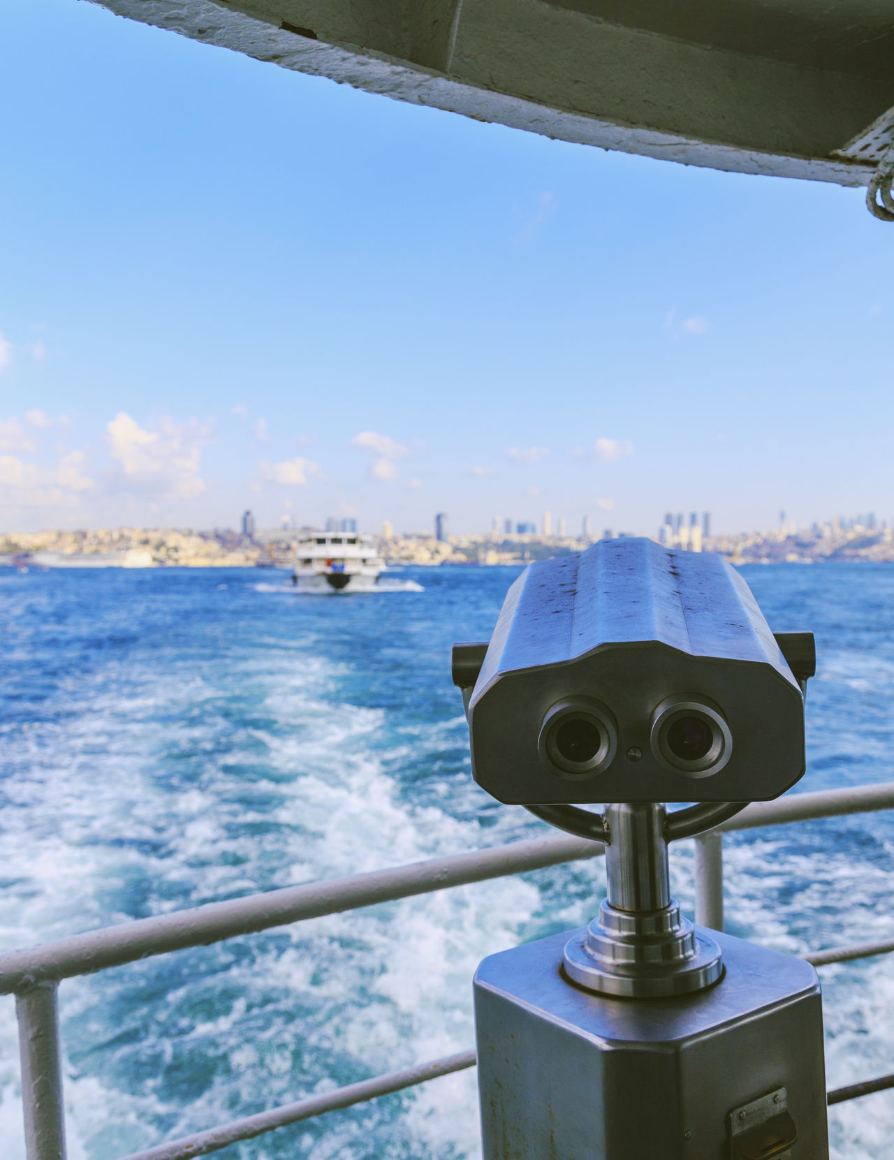 Beautiful stock photos of istanbul, Boat, Close-Up, Coin Operated, Coin-Operated Binocular