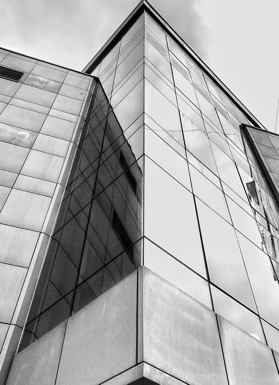 Low Angle View Architecture Building Exterior Sky Built Structure Reflection No People Modern Day Outdoors липецк Lipetsk Welcome To Black