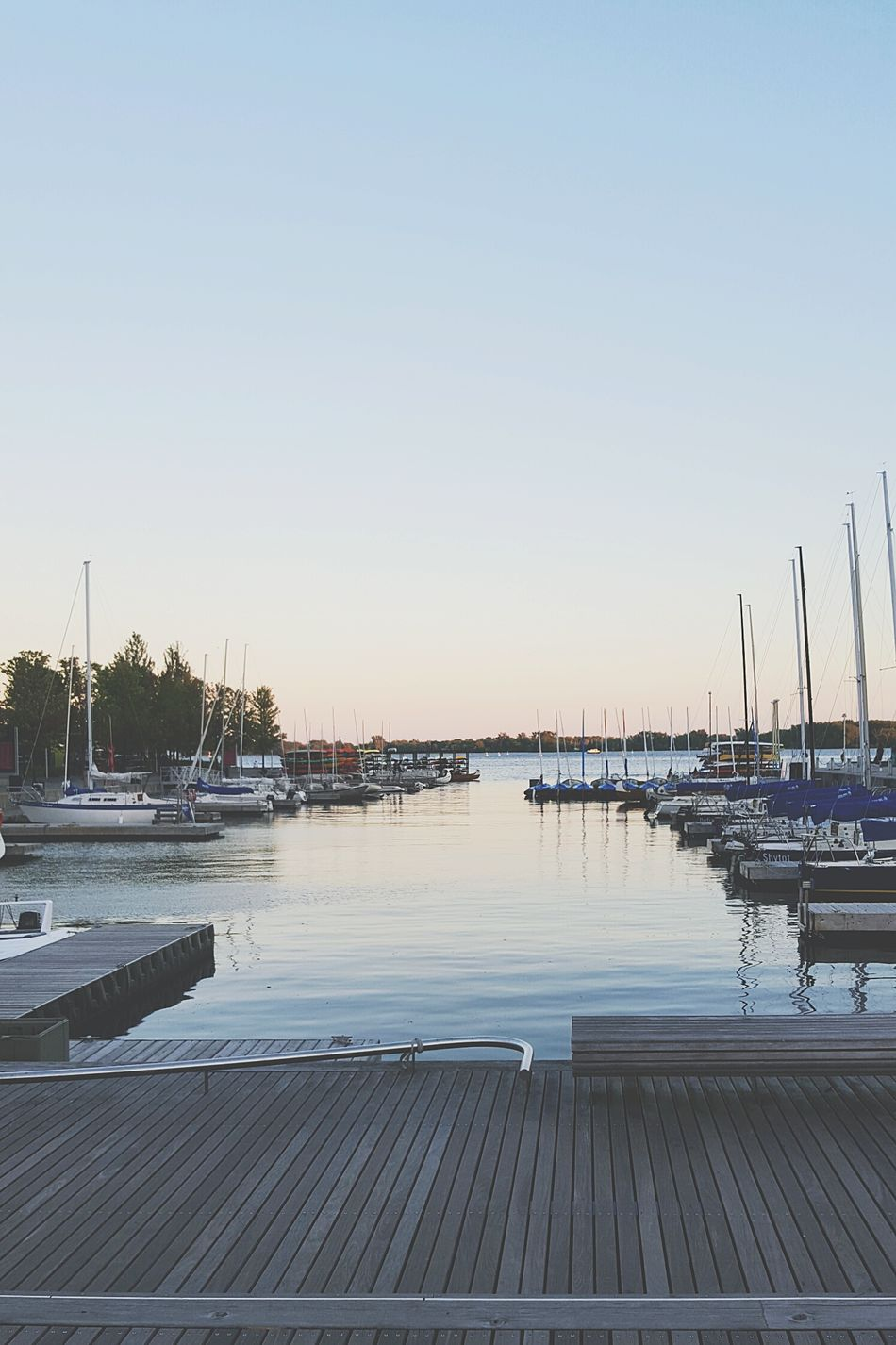 Sunset Sky Outdoors Water Harbourfront Toronto Boats City Downtown Summer