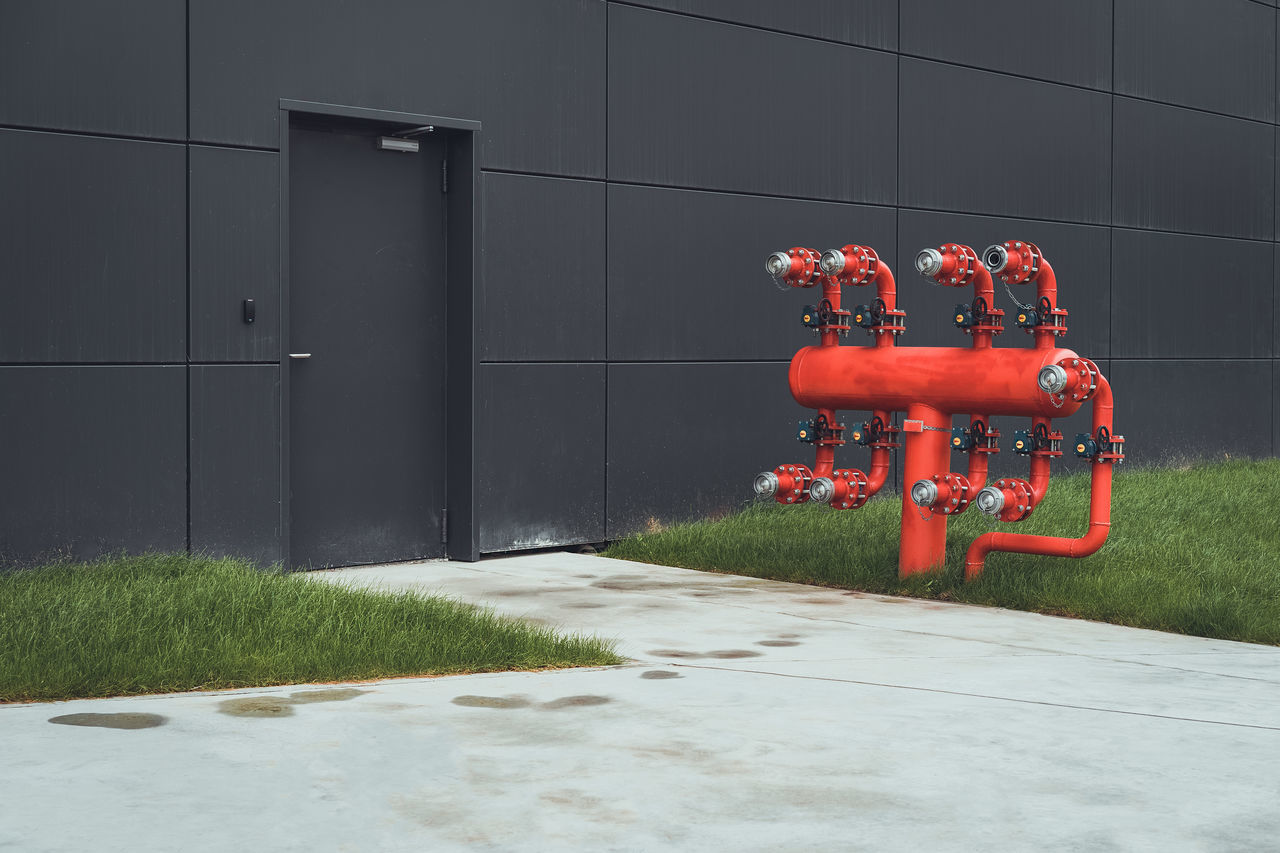 Architecture Urban The Architect - 2017 EyeEm Awards BYOPaper! Façade No People Wall Fire Hydrant