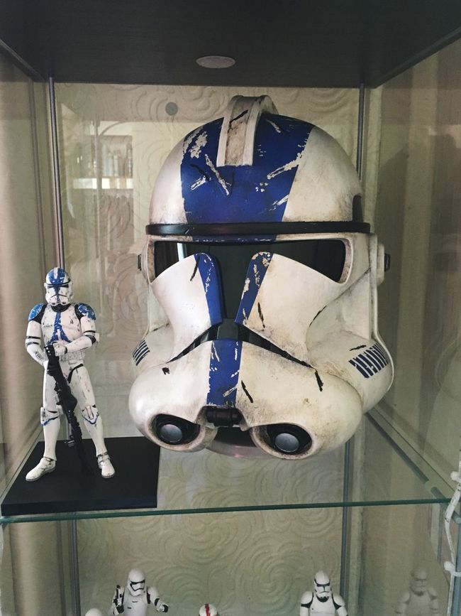 Star Wars 501st clone trooper helmet Starwars Clonetrooper 501st Helmet Bucket