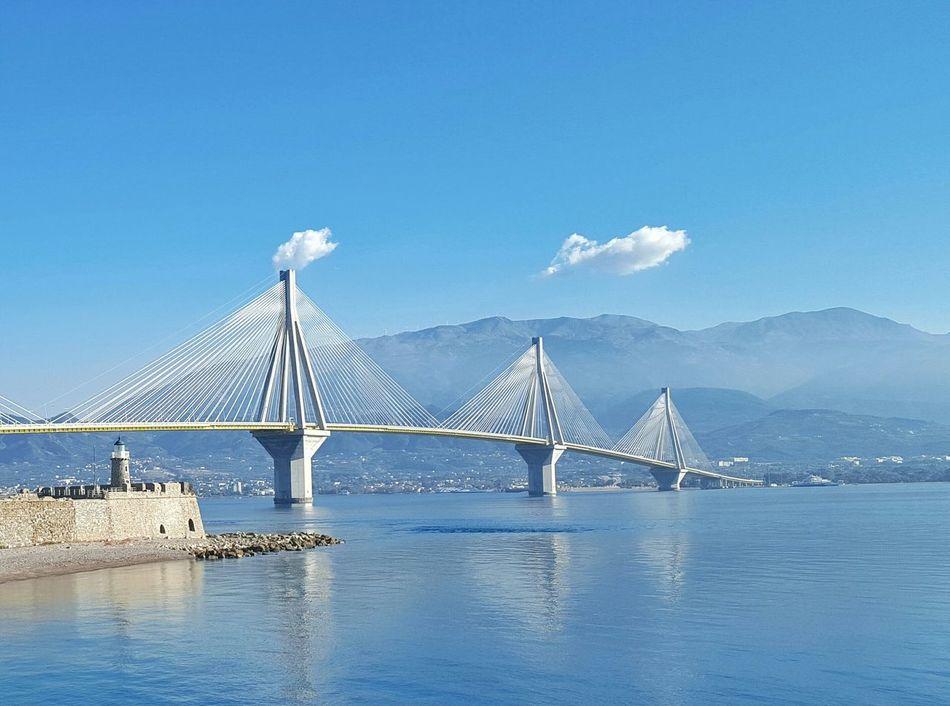 Greece Bridge Rio-antirio Bridge