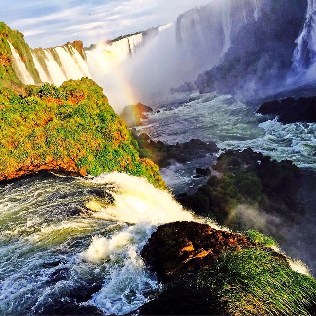 Iguaçu Falls/Brazil The Great Outdoors With Adobe Brazil Natural Beauty Brazil Nature Nature Photography Naturelovers Waterfalls Nature_collection Iguacu Falls