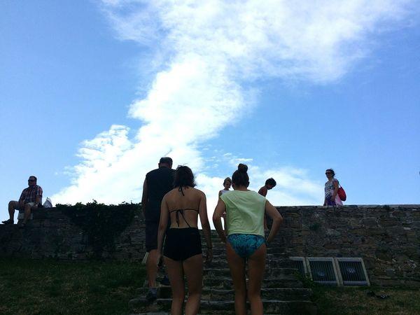 Hanging Out Enjoying Life Clouds And Sky Summer Views Sunshine Summerdays  Summer Piran/Pirano
