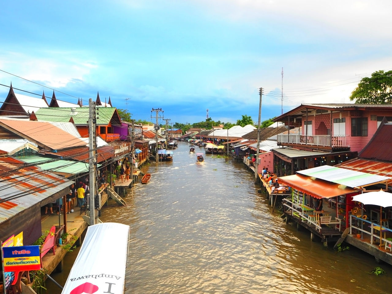 Beautiful stock photos of thailand, Amphawa, Architecture, Beauty In Nature, Built Structure