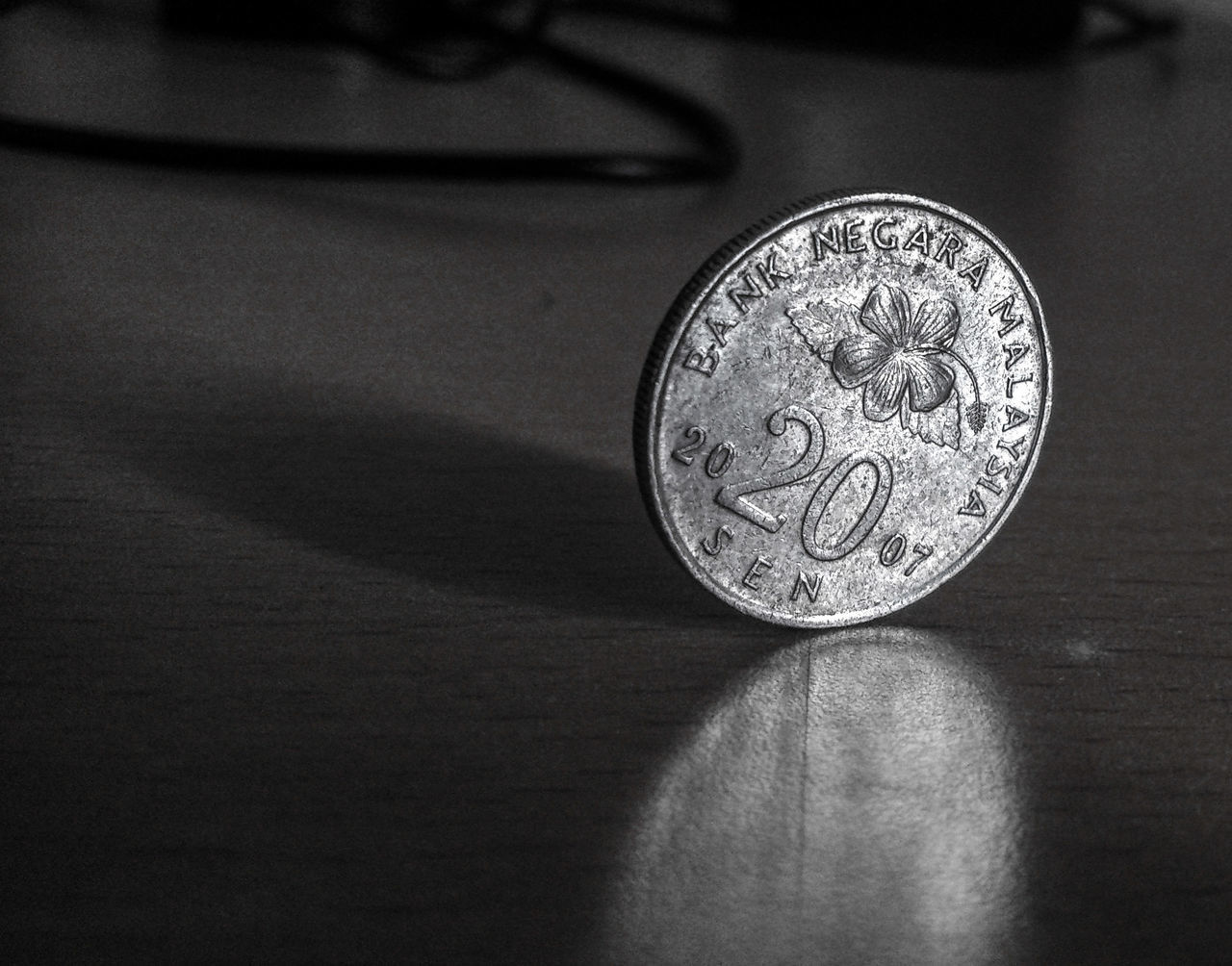 Coin Black And White B&w Malaysia