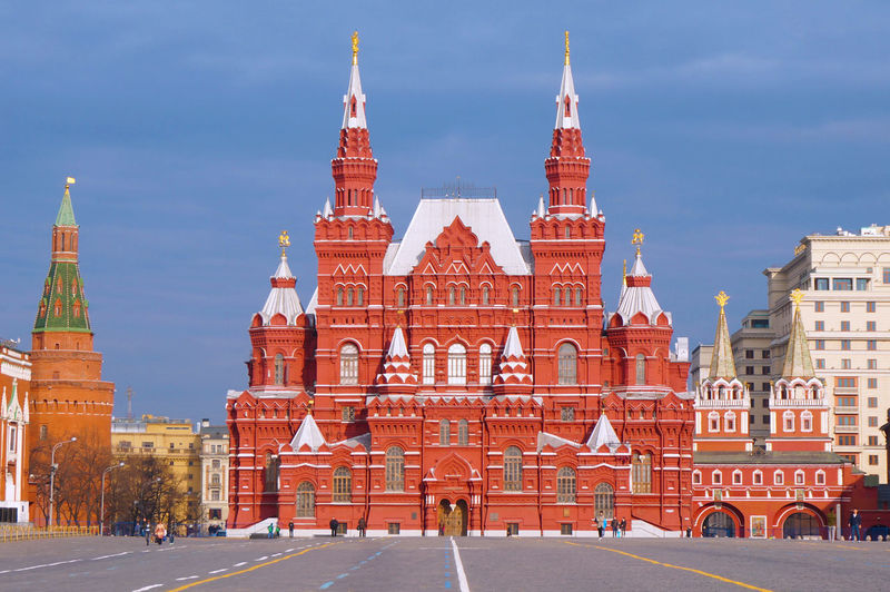 2014 Architecture Building Exterior Cremlin Cultures Day Mountain Red Red Square Russia Sky State Historical Museum World Heritage красная площадь 歴史博物館 赤 赤の広場