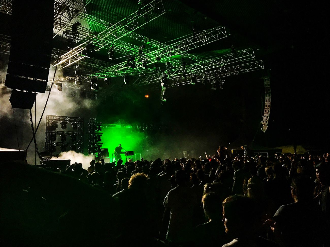 Eric Prydz at Riverstage Brisbane. Ok, I took this on my phone because I couldn't get a photo pass. But what a shot. Amazing gig Large Group Of People Night Music Audience Dj Performance Popular Music Concert Stage Light Illuminated Event