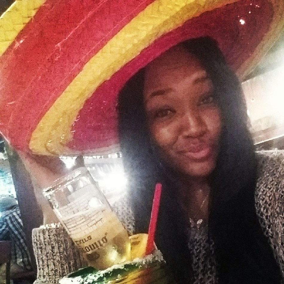 Got to wear a sombrero for my Bday celebration and a shot of tequila for the free 99!! Thanks @msprettikels ?? Aydiosmio Megustatequilamucho Jajajaja