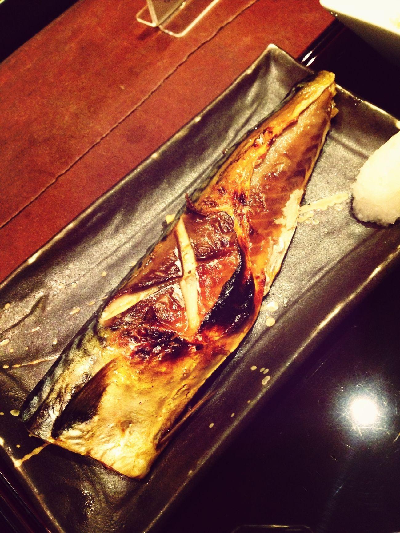 サバ炭火焼定食
