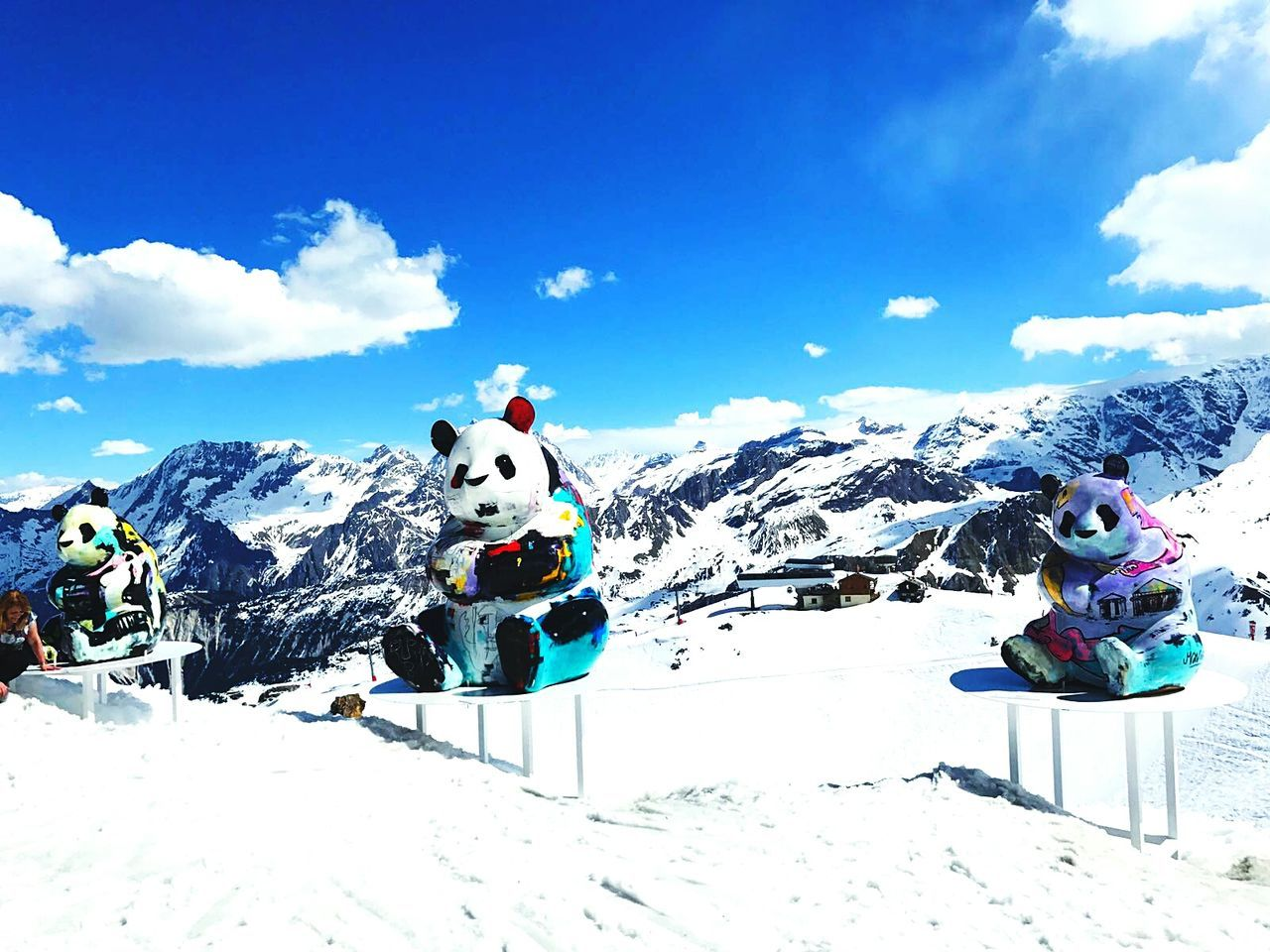 Snow Ski Holiday Vacations Landscape Outdoors Mountain Peak Extreme Sports Sky Day Courchevel In Photos  Mountain Sport Alpes France The Great Outdoors - 2017 EyeEm Awards