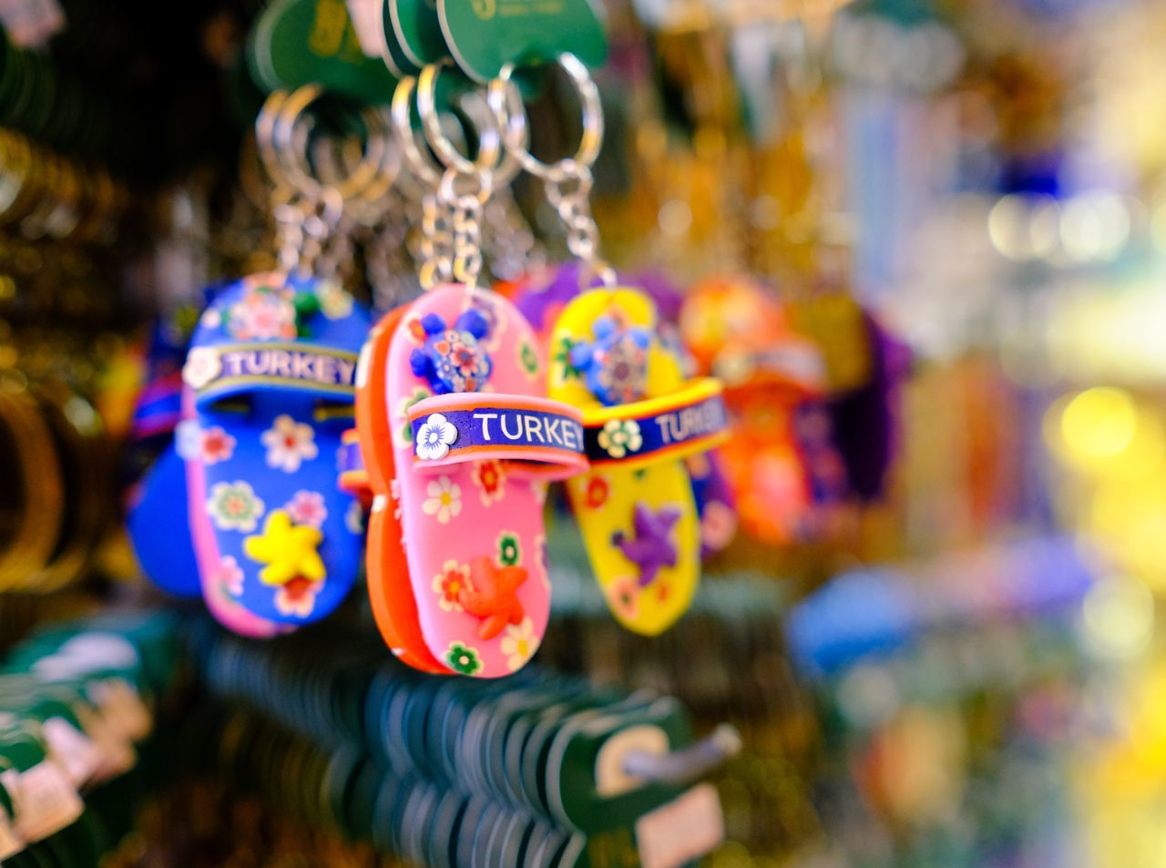 Gifts form Turkey Close-up Colorful Creativity Gift Key Chain Multi Colored Object Turkey