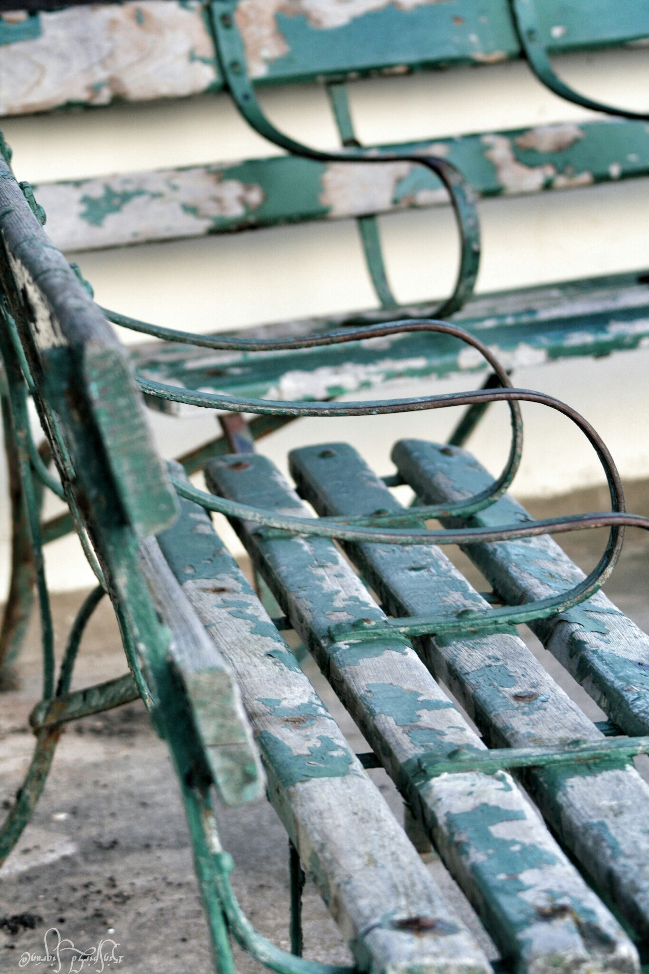 metal, pattern, metallic, close-up, railing, no people, sunlight, day, rusty, in a row, outdoors, design, old, built structure, high angle view, rope, textured, fence, wall - building feature, focus on foreground