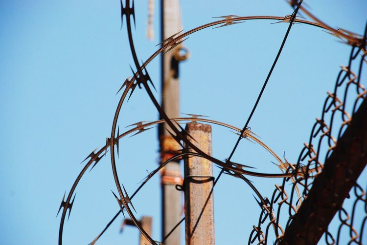 Razor Wire Barbed Wire Sharp Security Fence Circular Circle