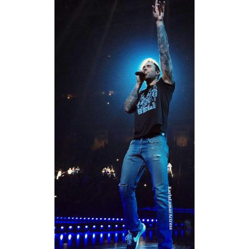 My favorite picture of Adamlevine Maroon5 Concert Concert Photography Celebrityphotography Photographer Photographer