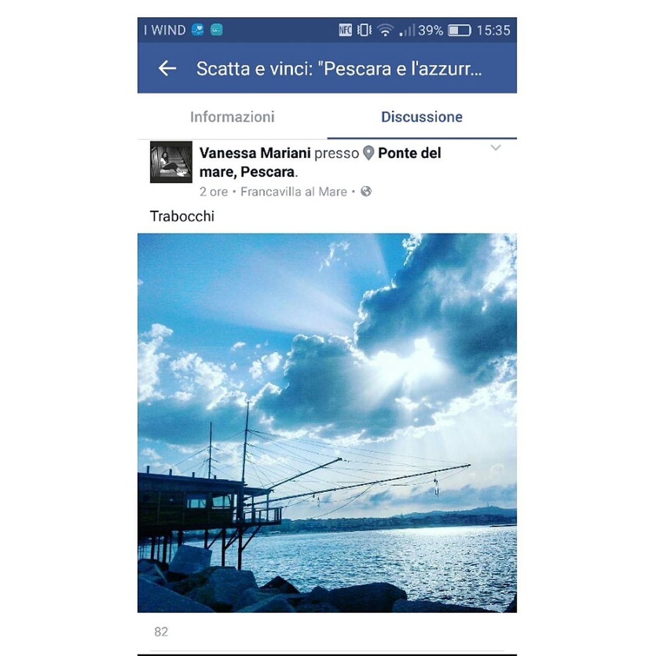 Aprite il link e mettete mi piace... Grazie https://m.facebook.com/events/1780364165510007?view=permalink&id=1782490601964030 Taking Photos Enjoying Life Calor Mare Abruzzo Enjoying Life Mare Nostrum Sun HuaweiP9 Dual Lens Leica Lens Luce Light Pescara Pescaracity Pescara,summer,sun,beach,sea,sunrise Volgoitalia Volgopescara Ig_pescara