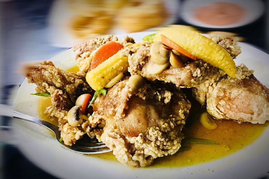 Buttered chicken Food And Drink Food Plate Ready-to-eat Serving Size Freshness Food Stories Temptation Close-up Meal Indoors