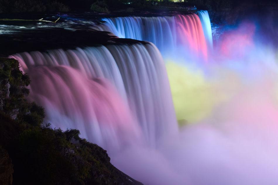 Beautiful stock photos of niagara falls, Blurred Motion, Niagara Falls, beauty In Nature, famous Place