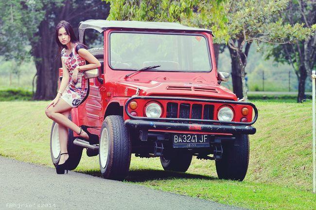 Red Models Car Eye4photography