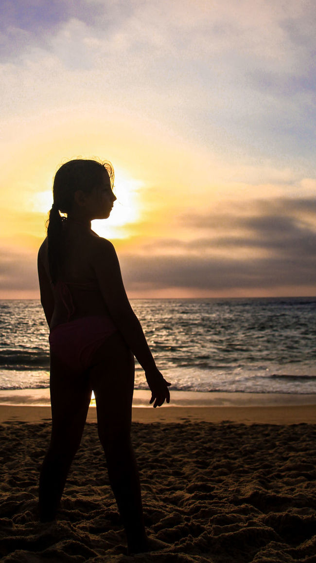 Horizon Over Water Beach Sea Sunset Water Scenics Tranquil Scene Cloud - Sky Beauty In Nature Ocean Vacations Standing Silhouette Photography Silhouettes Sunset_collection Sunset Silhouettes Beachphotography People And Places EyeEm Gallery Check This Out Dramatic Angles