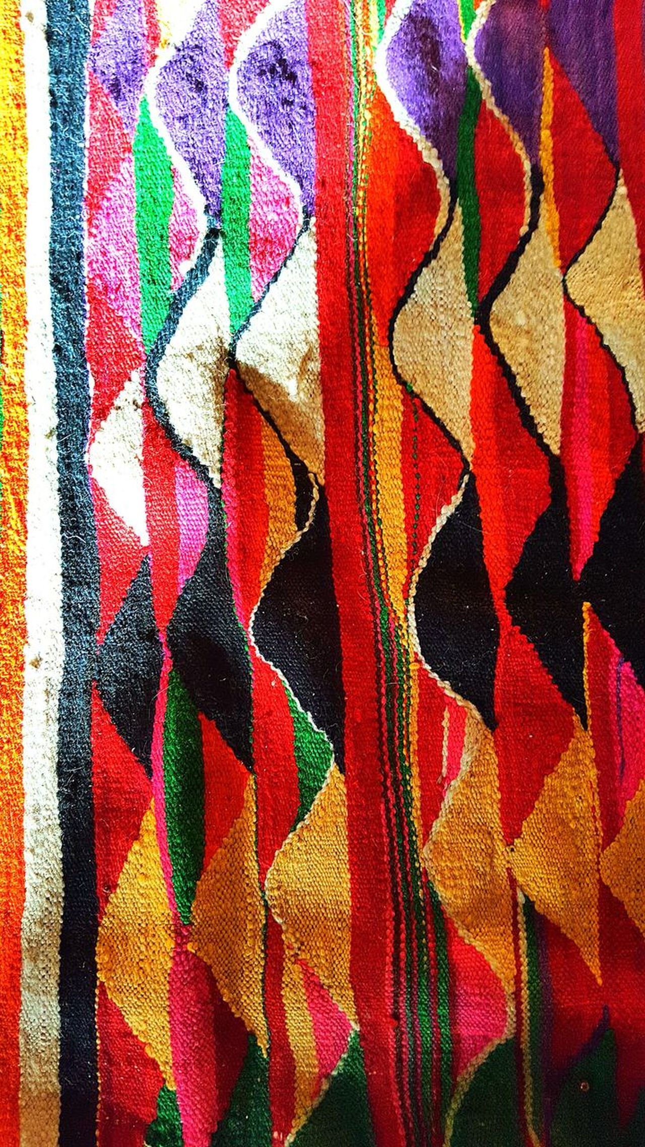 Wrag tapis Backgrounds Abstract Full Frame Multi Colored Textured  Textile Pattern Red No People Close-up Painted Image Day