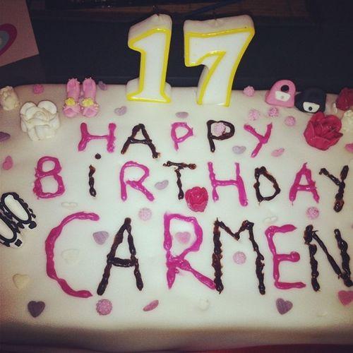 Happy Birthday Carmen . Lovelyday💛