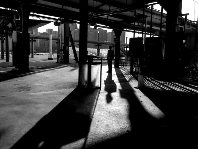 Home is where the heart is..... LGarciaPhotography Olloclip Shot On IPhone IPhone Iphoneonly Shot On IPhone 6 Plus Hoboken New Jersey Monochrome Bnw Bnw_friday_eyeemchallenge Streetphoto_bw Streetphotography Street Photographer Urban Geometry City Subway Station Subway Train Train Station Architecture Built Structure Real People Indoors  Lifestyles One Person Leisure Activity Men Person Day Architecture People Adult