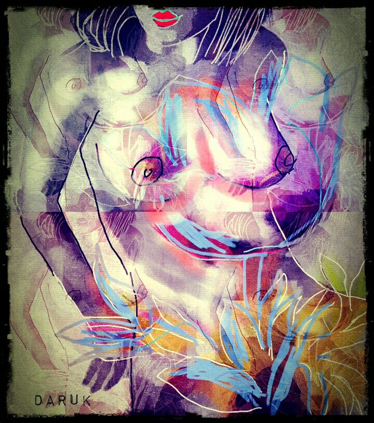 Secret Garden Make Magic Happen Human Figure Lines, Shapes And Curves Inspiration Beautyineverything Eye4enchanting My Art, My Soul... Composition Portrait Of A Woman Artforever