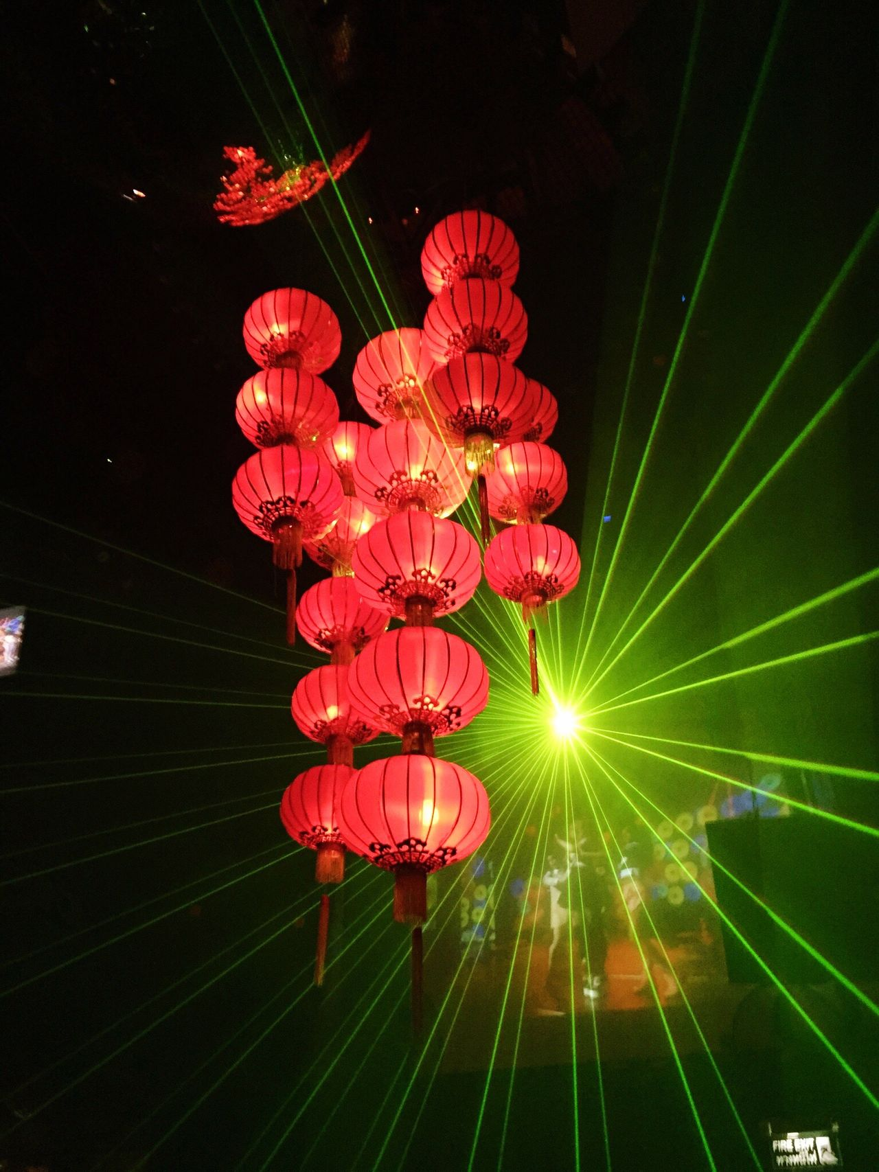 The new and the old! Lighting Equipment Low Angle View Illuminated Night Hanging Lantern Thayland Bangkok Nightclub Electricity  Chinese Lantern No People Cultures Chinese Lantern Festival Outdoors Paper Lantern Close-up
