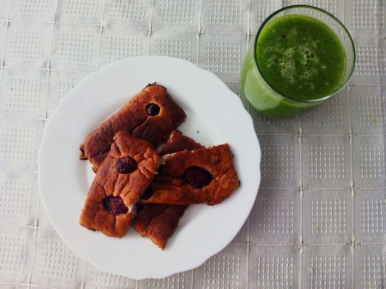 Goodmorning! Healthy Food Health Morning Green Juice Dejeunerausoleil Salud Desayuno Saludable Yummy Hand Made