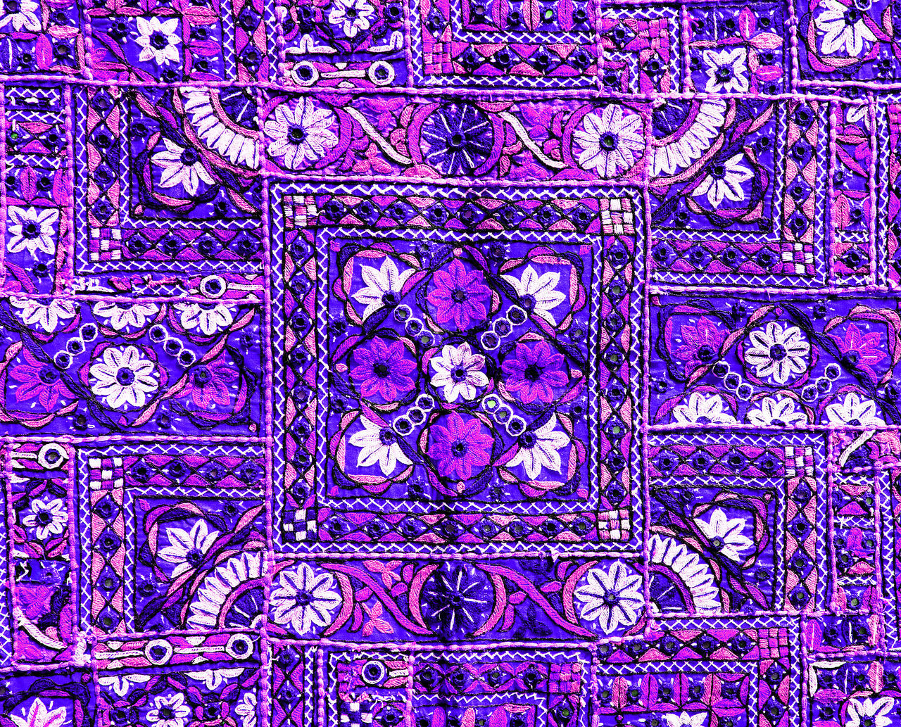full frame, pattern, backgrounds, purple, complexity, abstract, close-up, no people, day, architecture, indoors
