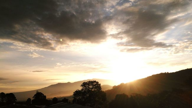 Dawn Sun Mountains Sky And Clouds Sun And Mountains Hope The Great Outdoors With Adobe