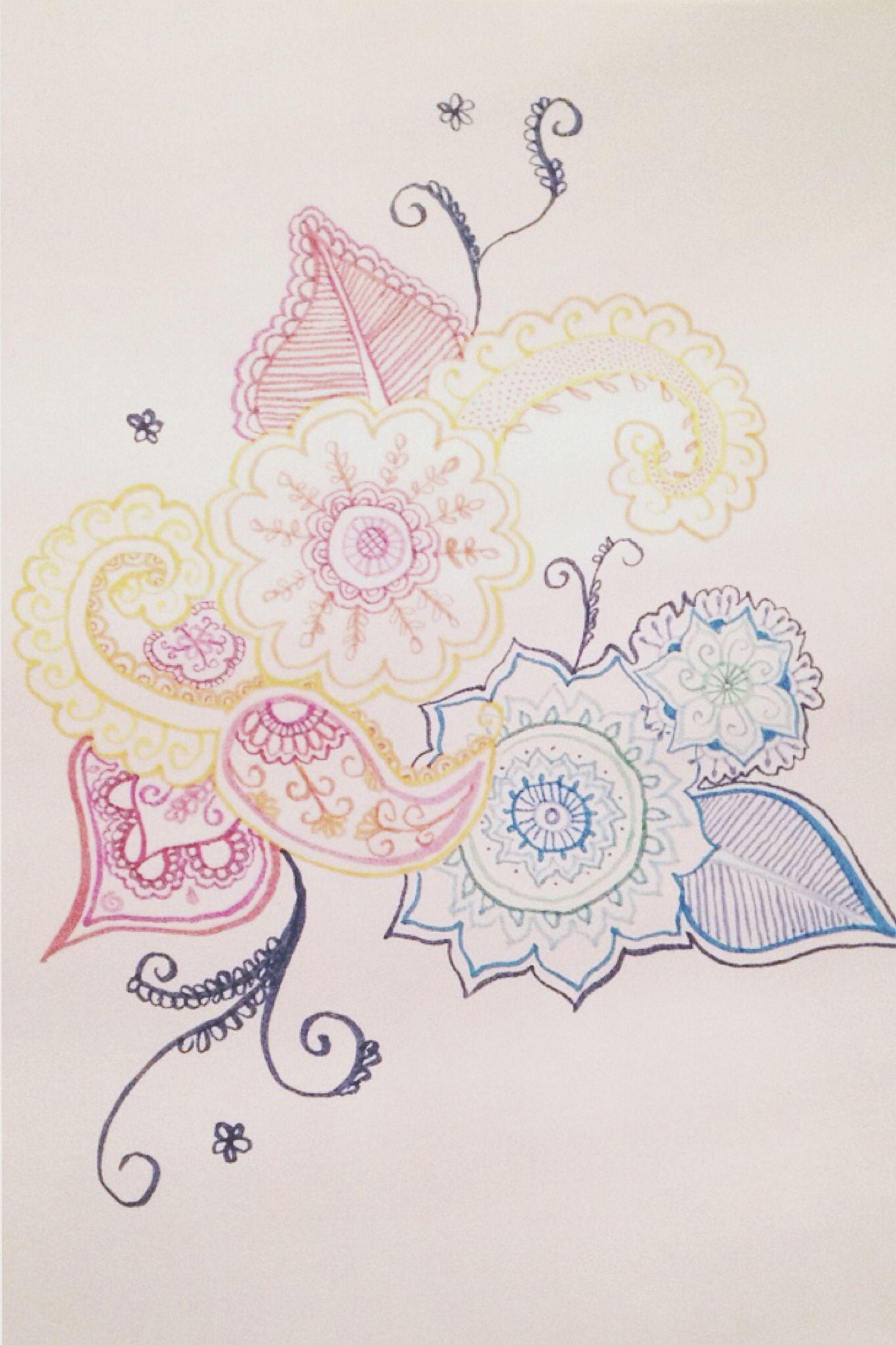 indoors, art and craft, art, creativity, studio shot, text, western script, white background, design, close-up, human representation, still life, wall - building feature, floral pattern, paper, craft, pattern, communication, ideas, animal representation