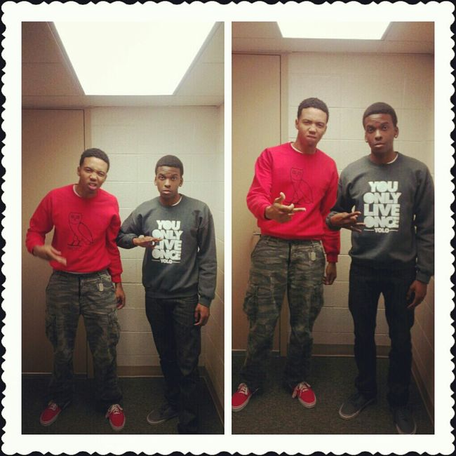 Happy Valentine's Day ladies from me and my bruh! Follow me on ig:@da_original_tae
