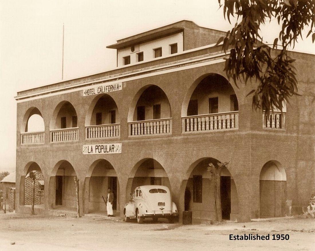 HotelCalifornia 1950 TodosSantos BCS Mex Eagles